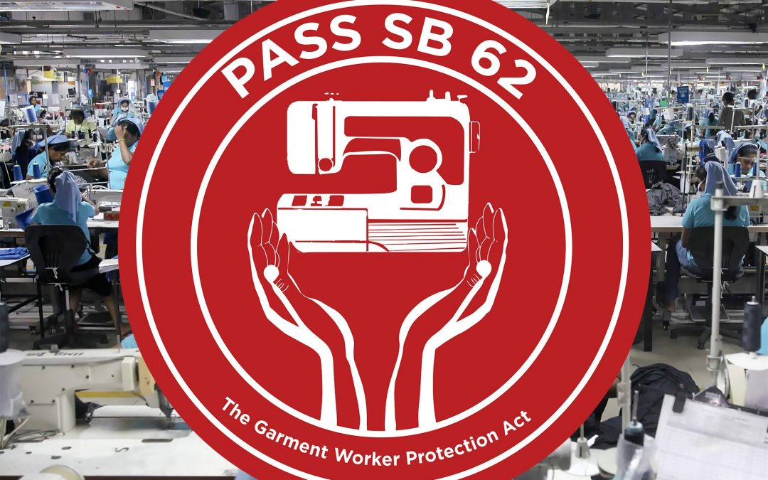 Brands That Support California's Garment Worker Protection Act