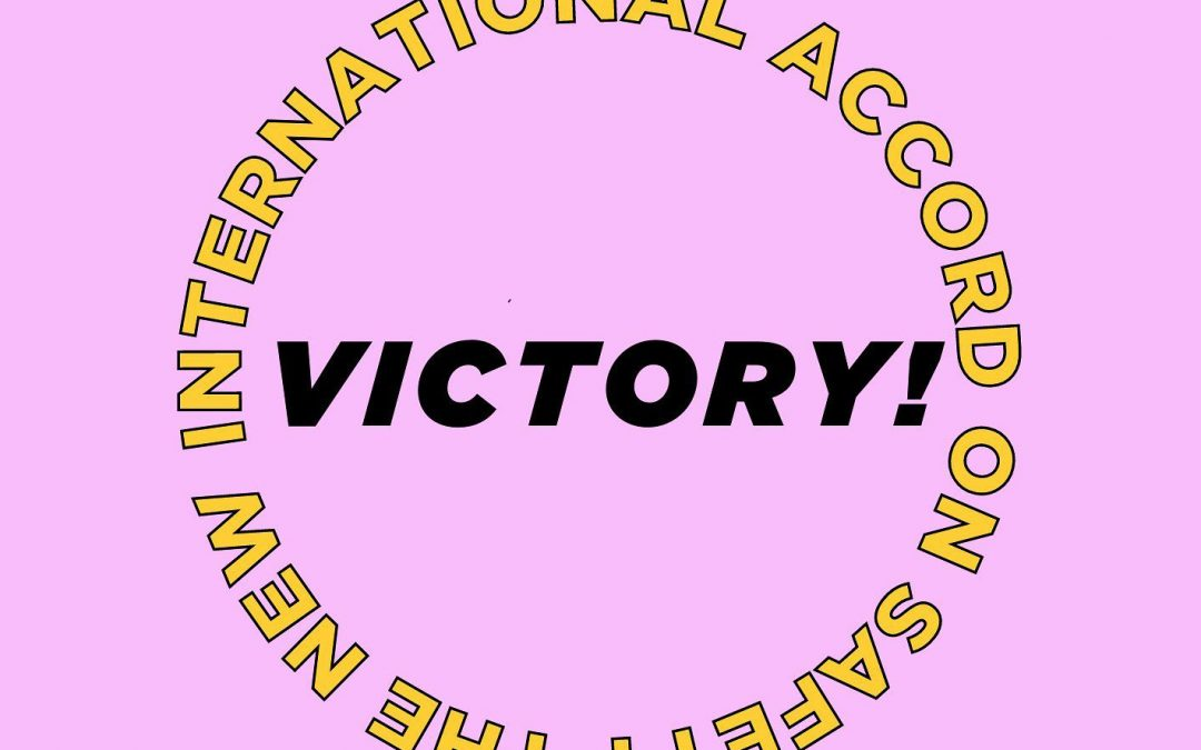 Victory! Bangladesh Accord Renewed and Expanded!